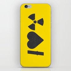 I Love Radiation iPhone & iPod Skin