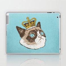 Grumpy King Laptop & iPad Skin