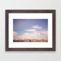 I Am In Brooklyn... Framed Art Print