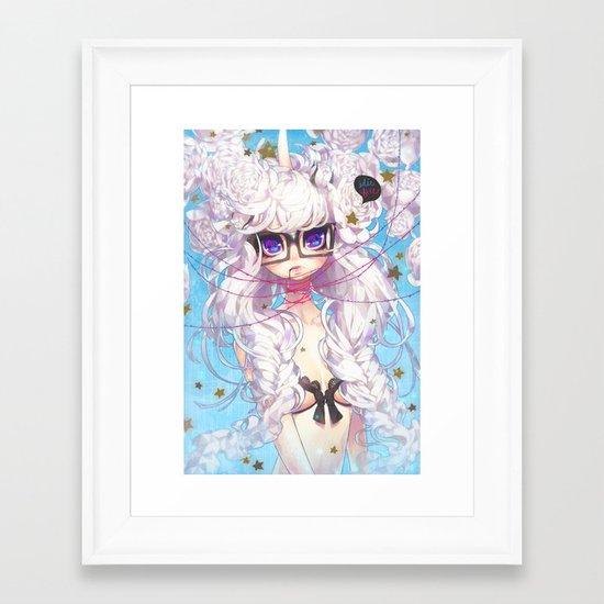 fixation Framed Art Print