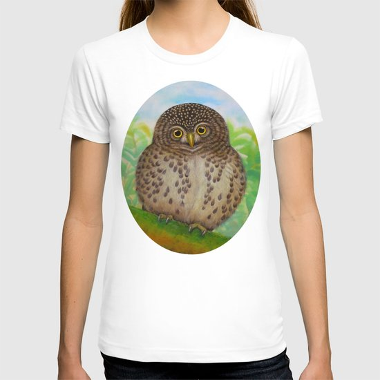 Collared Owlet T-shirt
