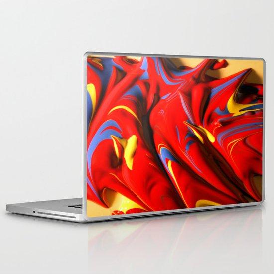 Paint Spill Laptop & iPad Skin