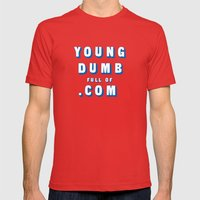 Point Break Modified (Rule of Threes) Mens Fitted Tee Red SMALL