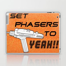 Set Phasers to Yeah! Laptop & iPad Skin
