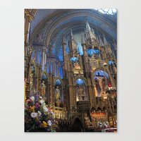 Notre-Dame Montreal Canvas Print