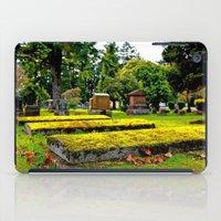 Scenic Cemetery iPad Case