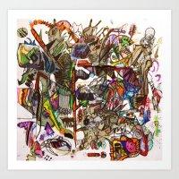 The Art Of Cut Throat Bu… Art Print