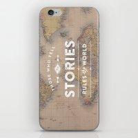 Those Who Tell The Stori… iPhone & iPod Skin