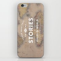 Those Who Tell The Stori… iPhone & iPod Skin