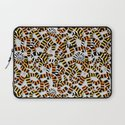 Tiger Toes and Laundry Terrors Laptop Sleeve