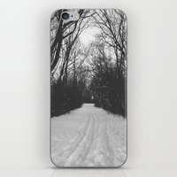 paths traveled iPhone & iPod Skin