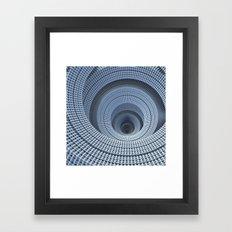 Descend Framed Art Print