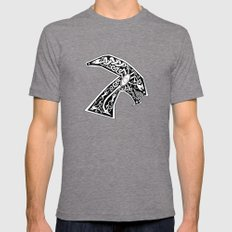 Celtic xenomorph Mens Fitted Tee Tri-Grey SMALL