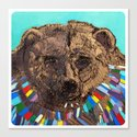 Jesus Was a Bear Canvas Print
