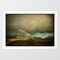 Irish Skies III Art Print