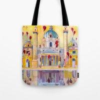 Vienna, Famous Karlskirc… Tote Bag
