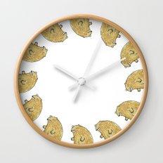 humble bear Wall Clock