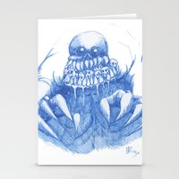 Mad Horror  Stationery Cards
