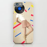 iPhone & iPod Case featuring Color Chaos Collection -- The Party Never Ends by Elo Marc