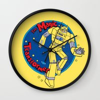 The Magic Transformer Wall Clock