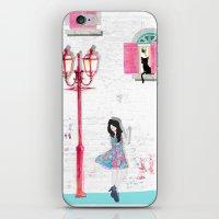 White Wall iPhone & iPod Skin