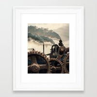Wheels of Industry Framed Art Print
