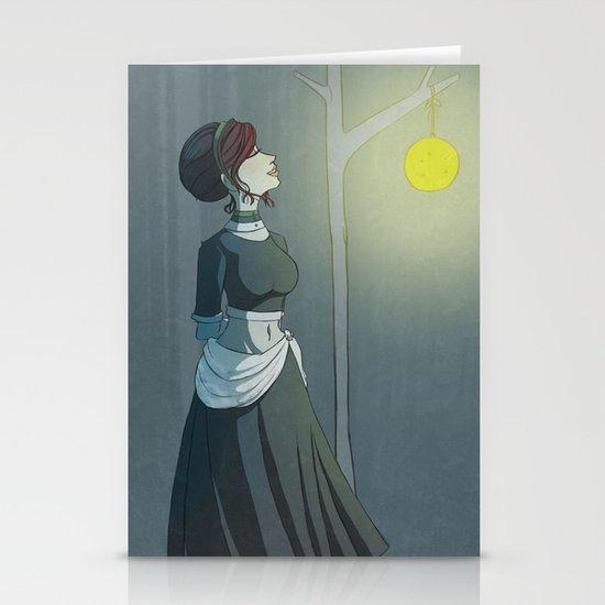 A Calm Night Stationery Card