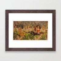 Lost Companions Framed Art Print
