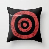 Target Of Desire Throw Pillow