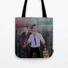 Gottlieb and Geiszler - Pacific Rim Tote Bag