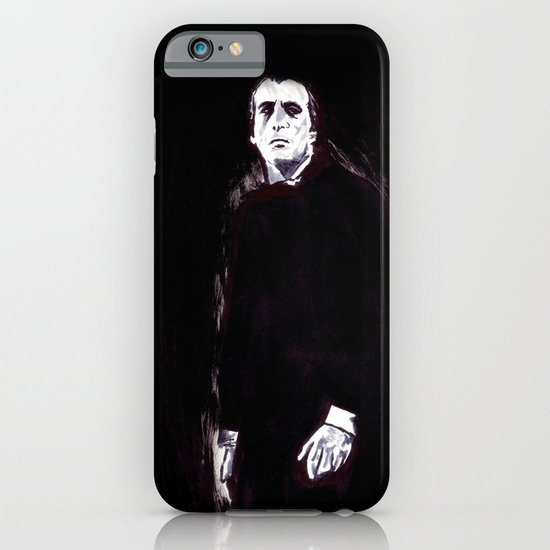 Count Dracula iPhone & iPod Case