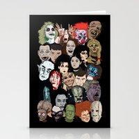 Halloween Gumbo Stationery Cards