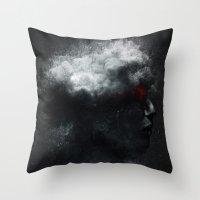 Portrait 15 Throw Pillow