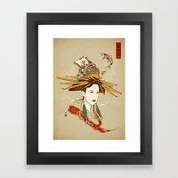 Nihonsei Framed Art Print