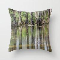 Cypress Mirror Throw Pillow