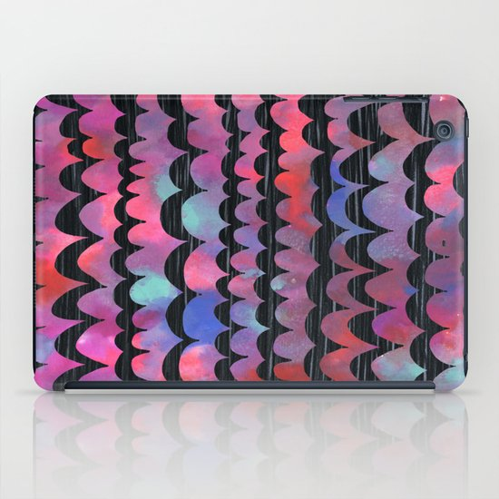 WAVES - Purple iPad Case
