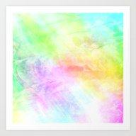 Colored Encaustic Patter… Art Print