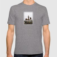 Balance Mens Fitted Tee Tri-Grey SMALL