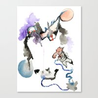 Nightmare Juice 1 Canvas Print