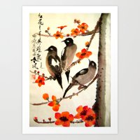 ode to Spring Art Print