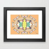 Caleidoscópicas [1] Framed Art Print