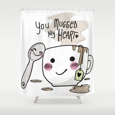 I love your Mug Shower Curtain