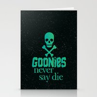 Goonies Never Say Die Stationery Cards