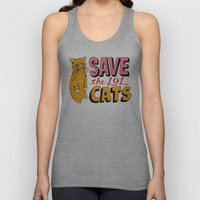 Save the LOL Cats Unisex Tank Top