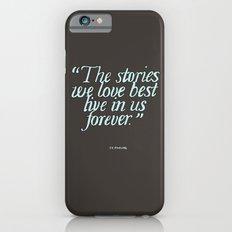 Harry Potter Quote #2 iPhone 6 Slim Case