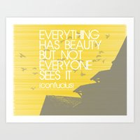 Confucius Quote Art Print