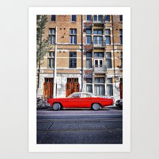 New Amsterdam Art Print