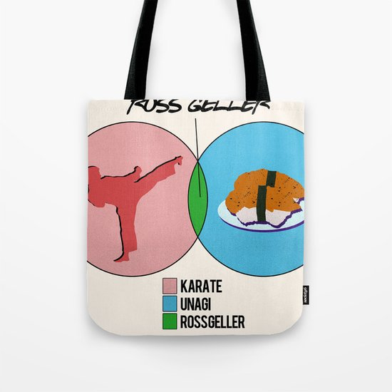 Venn Diagram for Ross Geller Tote Bag