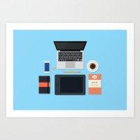 Graphic Designer Art Print