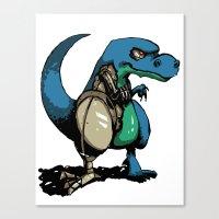 Rexinator Canvas Print